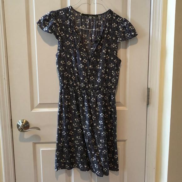 Modcloth Dresses & Skirts - Blue Floral Dress